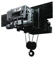Model RPM Low Headroom Monorail Hoists
